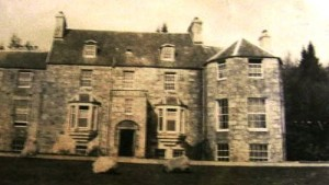 Old photo of Rannoch Lodge in 1919