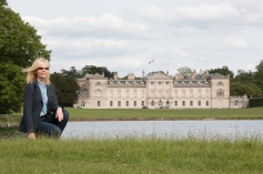 Jane at Woburn Abbey